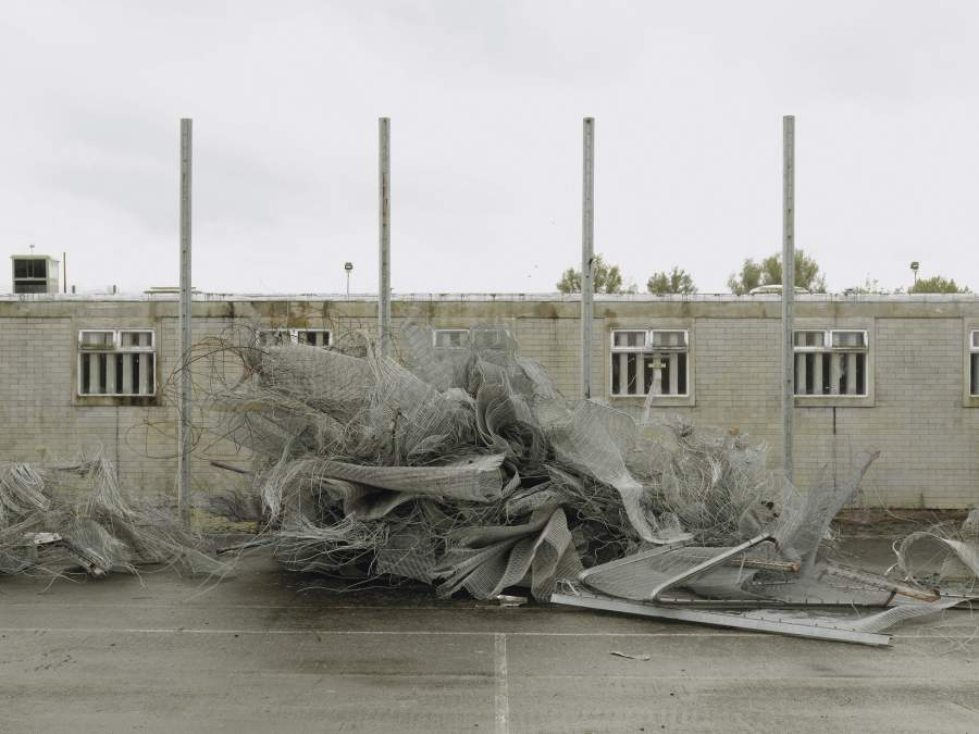 Donovan Wylie, Deconstruction of the Maze prison. Northern Ireland. 2009