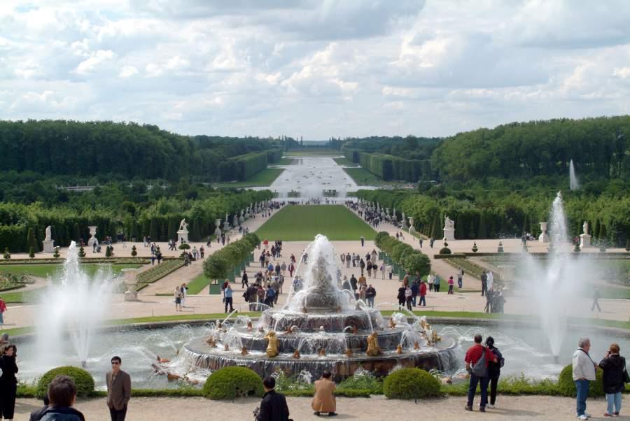 نوافير قصر فرساي