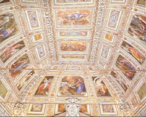 Loreto appello per la sala del pomarancio for Disposizione della casa aperta
