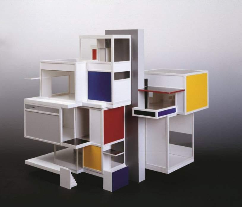 Mondrian e lo stijl nuovo for Architettura olandese