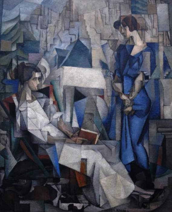 Diego Rivera, «Dos mujeres», 1914
