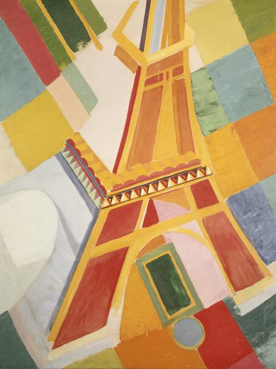 Robert Delaunay La Tour Eiffel, 1924-26 Olio su tela, cm 160,6 x 120 Washington, Hirshhorn Museum and Sculpture Garden, Smithsonian Institution © L & M Services B.V. The Hague, by SIAE 2011