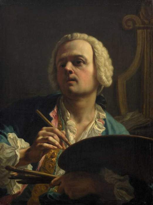 Giambettino Cignaroli, Autoritratto, Vienna
