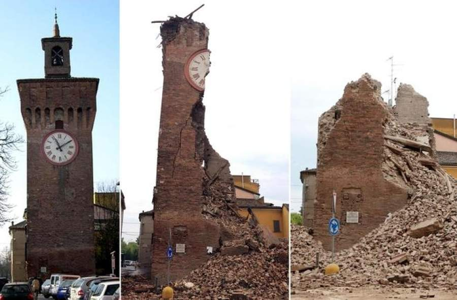 Terremoto in emilia danni incalcolabili al patrimonio for Oggi in romagna