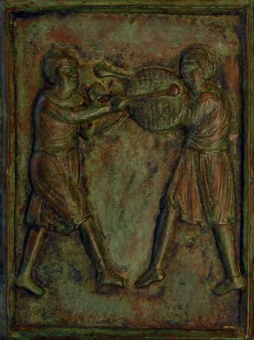 Ravello restaurate le porte bronzee della cattedrale - Di trani porte ...