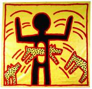 Keith Haring, «Untitled», 1982. © Keith Haring Foundation