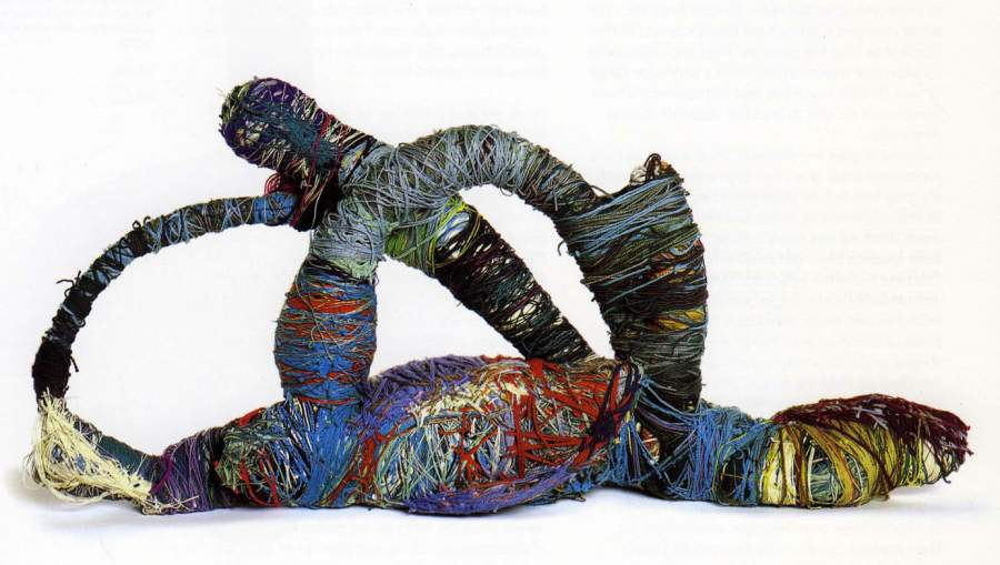 Judith Scott, «Curlicue Sculpture»