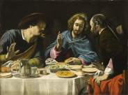 Filippo Tarchiani, «Cena in Emmaus», Los Angeles, The County Museum of Art