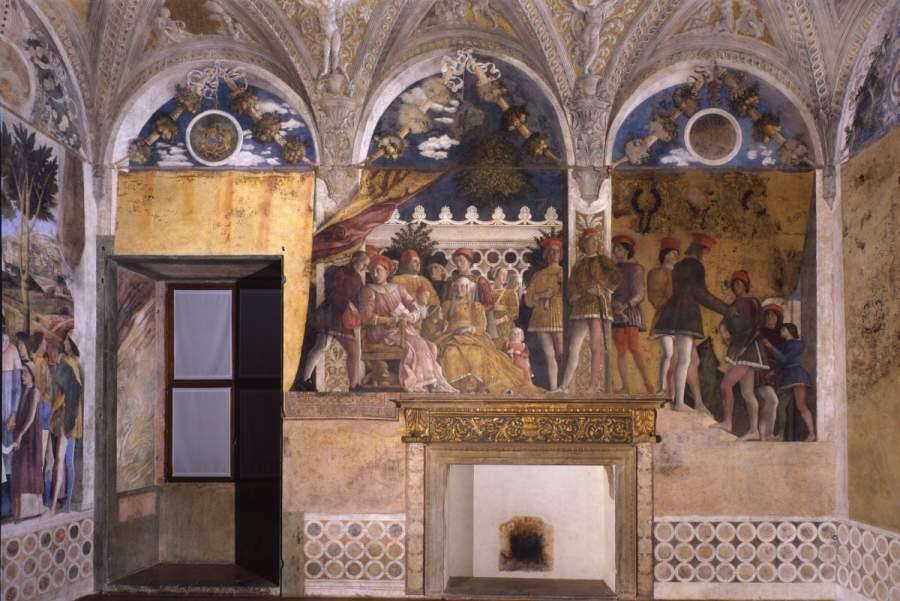 Riaperta a mantova la camera degli sposi for Mantova palazzo ducale camera degli sposi