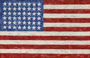 Jasper Johns. «Flag». © Sotheby's