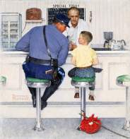 «The Runaway» (1958);© 1958: SEPS, Norman Rockwell Museum Collections