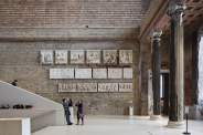 Il Neues Museum di Berlino, ristrutturato da David Chipperfield.