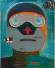 Nicole Eisenman, «Guy Racer», 2011. Courtesy Susanne Vielmetter Los Angeles Projects. Photo: Robert Wedemeyer