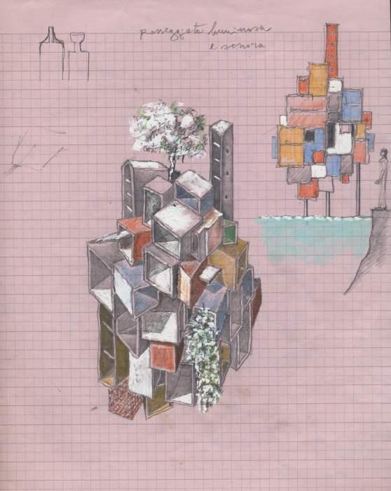 Se disegnata l architettura arte for Architettura disegnata