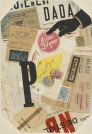 Raoul Hausmann P, ca 1920-1921 Collage with printed paper and ink, 31.2 x 22 cm Hamburger Kunsthalle, Department of Prints, Drawings and Photography © 2015 ProLitteris, Zurich
