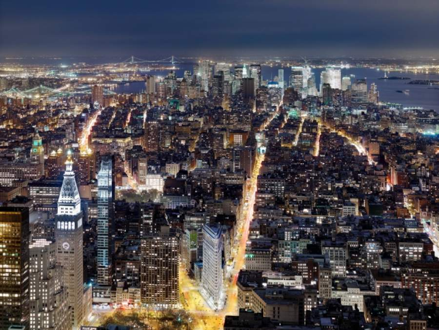 Luca Campigotto, NYC vista dall'Empire State Building