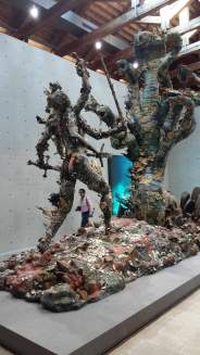 Dalla mostra di Damien Hirst Treasures from the Wreck of Unbelievable