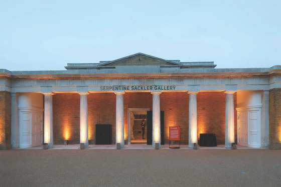 La Serpentine Sackler Gallery a Londra