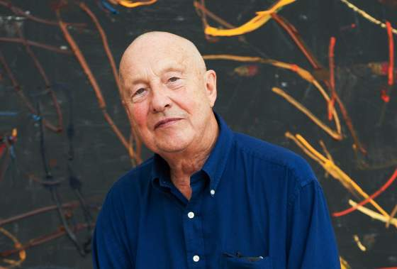 Georg Baselitz. Foto courtesy Fondation Beyeler