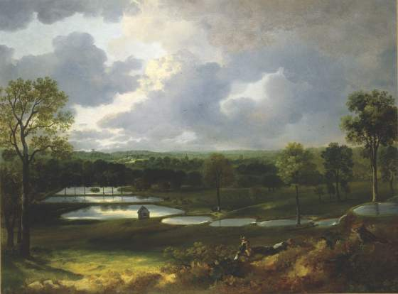 «Holywells Park» (1748-50) di Thomas Gainsborough dall'Ipswich Museum and Gallery