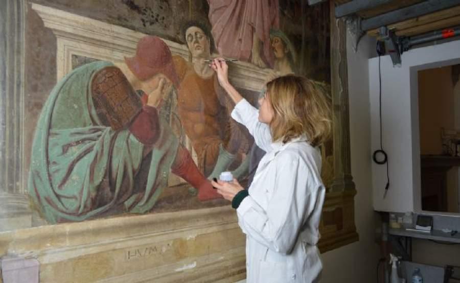Concluso il restauro della Resurrezione di Piero