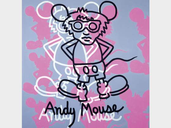 «Andy Mouse», 1985, di Keith Haring © Keith Haring Foundation