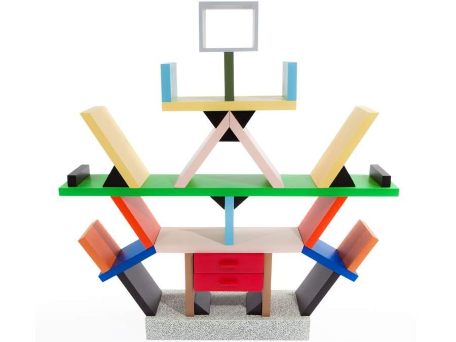 Memphis design a palazzo franchetti for Libreria carlton