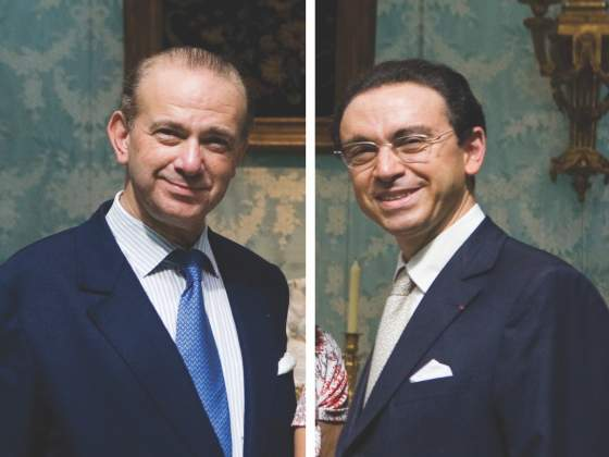 Gli antiquari Olivier e Laurent Kraemer