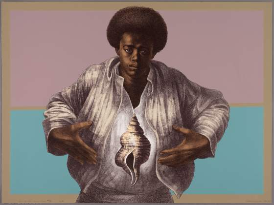 Charles White, «Sound of Silence», 1978  © 1978 The Charles White Archives