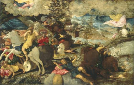 La «Conversione di san Paolo» di Jacopo Tintoretto, Washington, The National Gallery of Art