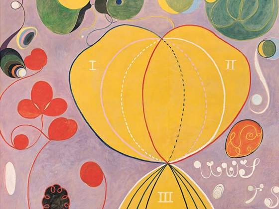 Hilma af Klint «The Ten Largest No.7, Adulthood Group IV» (1907) particolare