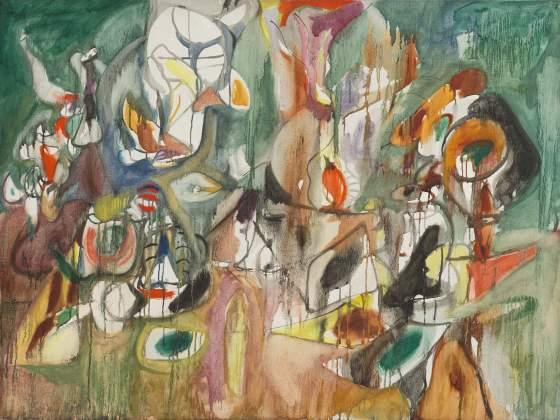 «One Year the Milkweed» (1944), di Arshile Gorky. © 2018 The Estate of Arshile Gorky / Artists Rights Society (ARS), New York