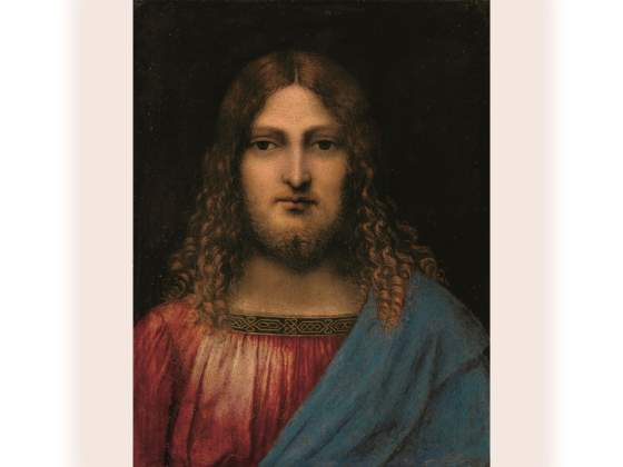 «Busto di Cristo», schedato in catalogo come «circle of Leonardo da Vinci»
