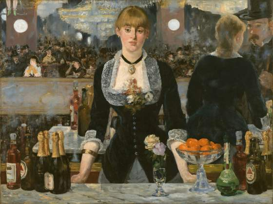 Un'icona della Courtauld: «Bar aux Folies Bergère» (1882) di Edouard Manet. © The Samuel Courtauld Trust, The Courtauld Gallery London