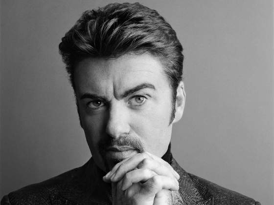 George Michael. © Rankin