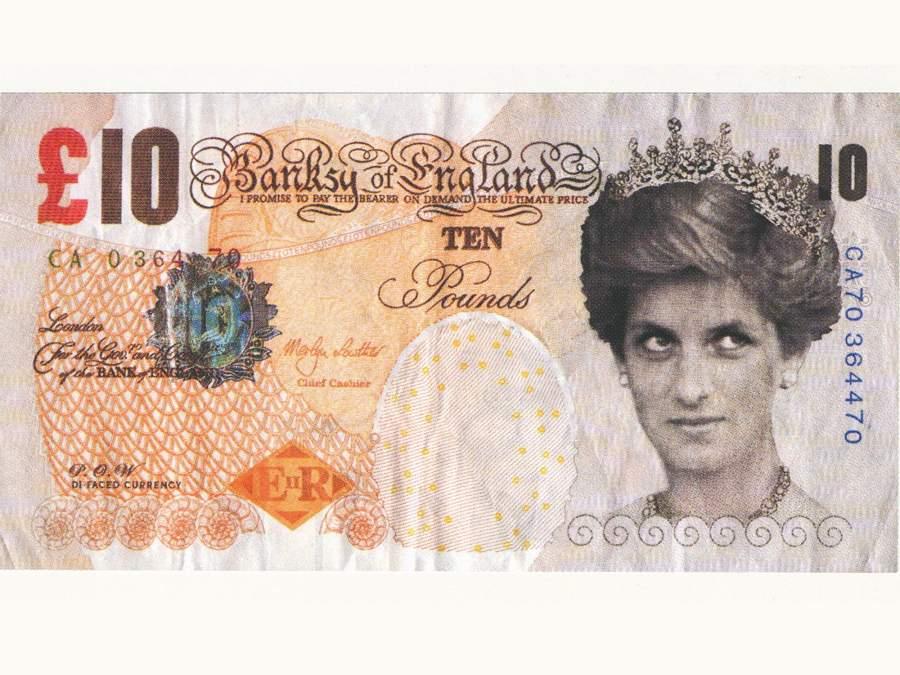 Banksy of England entra al British