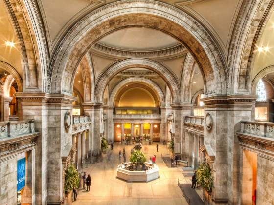 La Great Hall del Metropolitan Museum di New York. Foto: Sracer 357