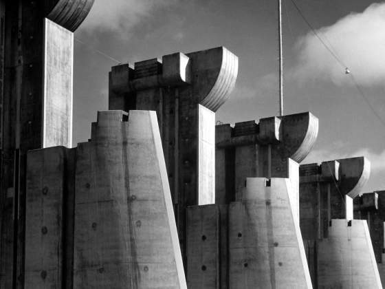 «Fort Peck Dam», 1936, di Margaret Bourke-White (particolare). © Time Inc./Courtesy of LIFE Picture Collection