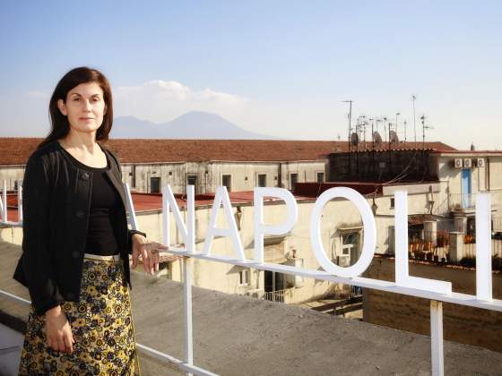 Kathryn Weir direttrice del Museo Madre di Napoli