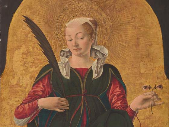 «Santa Lucia» di Francesco del Cossa, Washington, National Gallery of Art