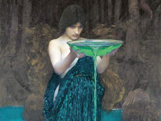 «Circe invidiosa» di John W. Waterhouse