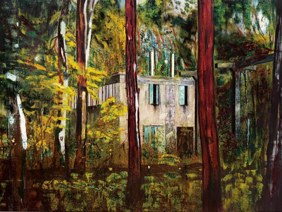 «Boiler House» di Peter Doig. © 2020 Christie's Images Ltd