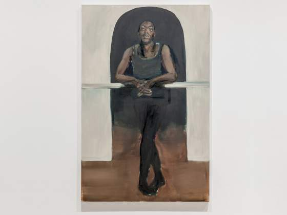 «No patience for Juju» di Lynette Yiadom-Boakye, 2015