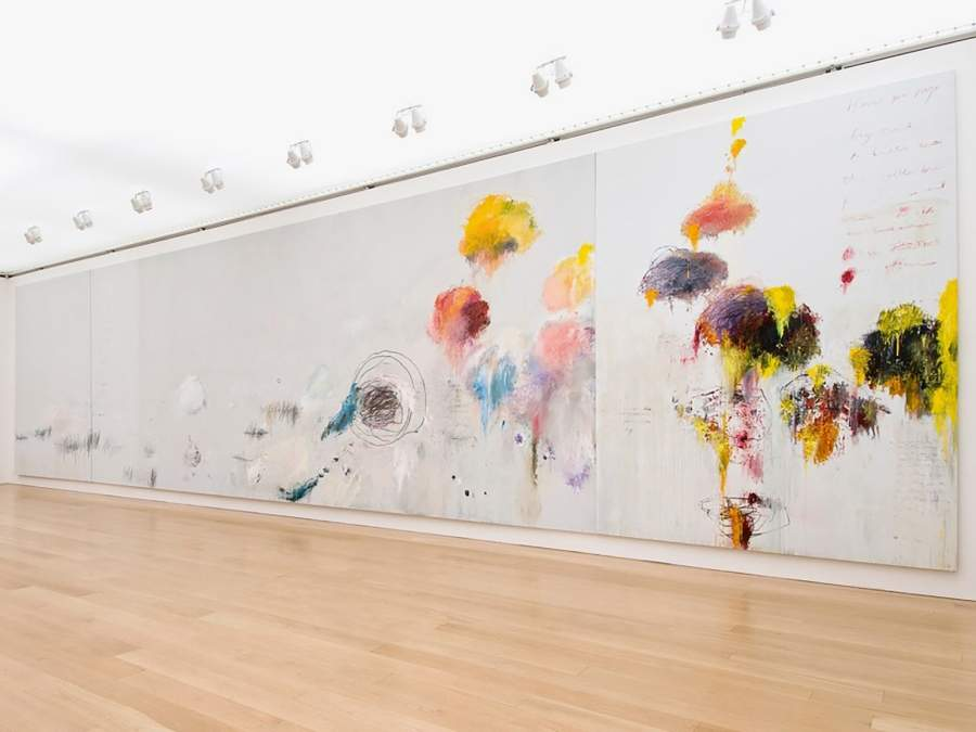 Cy Twombly Gallery, Menil Collection, Houston
