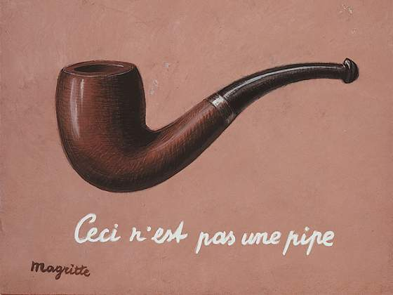 René Magritte, La trahison des images, 1952, Dono di Alexander Iolas, Menil Collection, Houston, C. Herscovici Artists Rights Society (ARS), New York