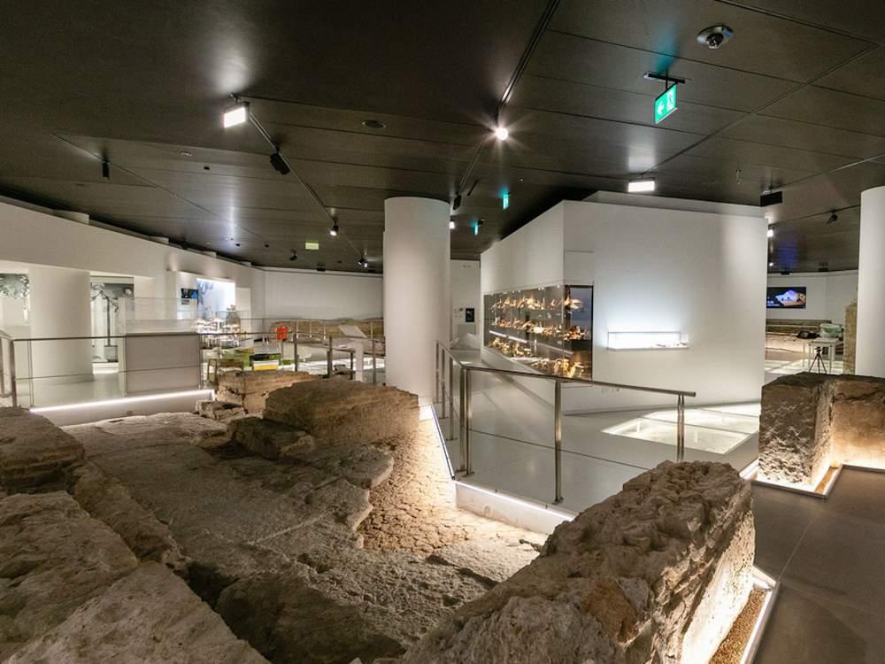 Veduta del nuovo Museo del Ninfeo a Roma