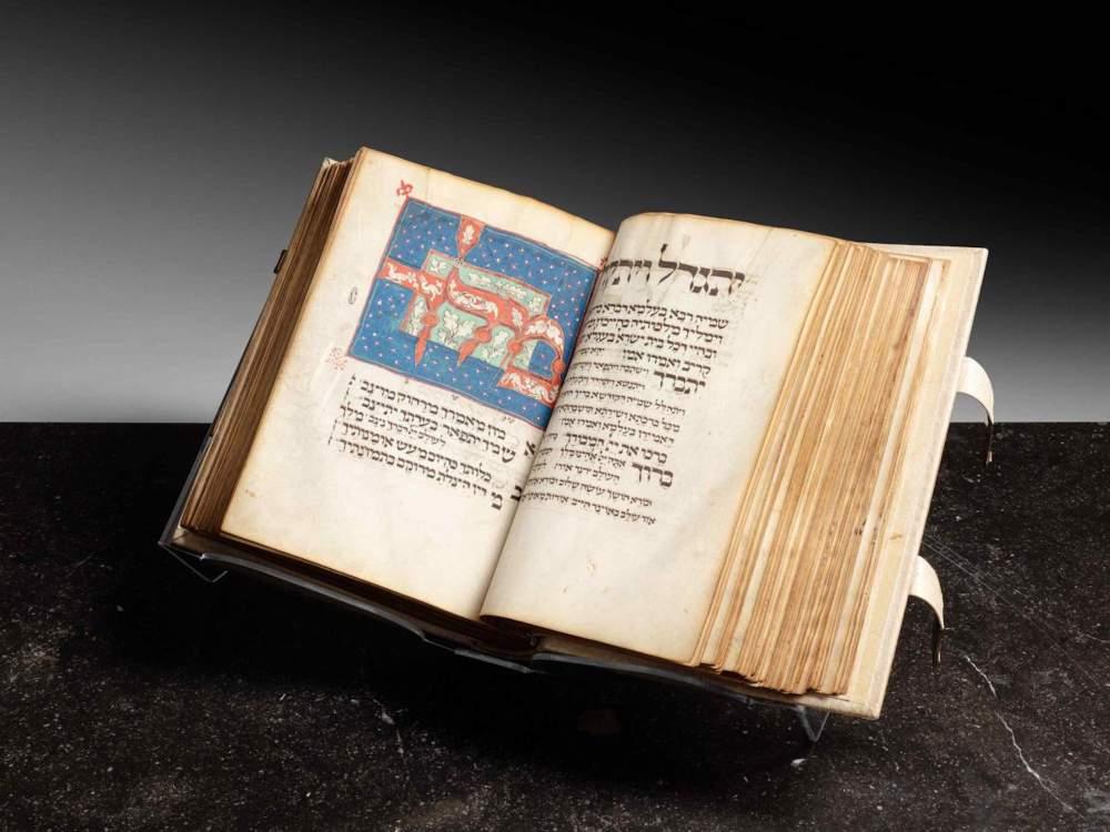 Il libro di preghiere venduto da Sotheby's. © Sotheby's