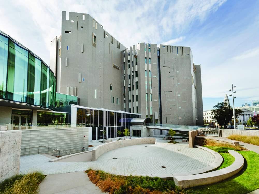Il nuovo ampliamento del Denver Art Museum. Foto Eric Stephenson, Denver Art Museum
